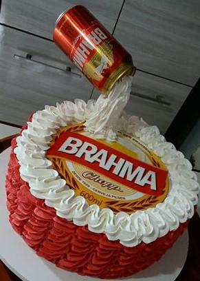 bolo da brahma papel arroz