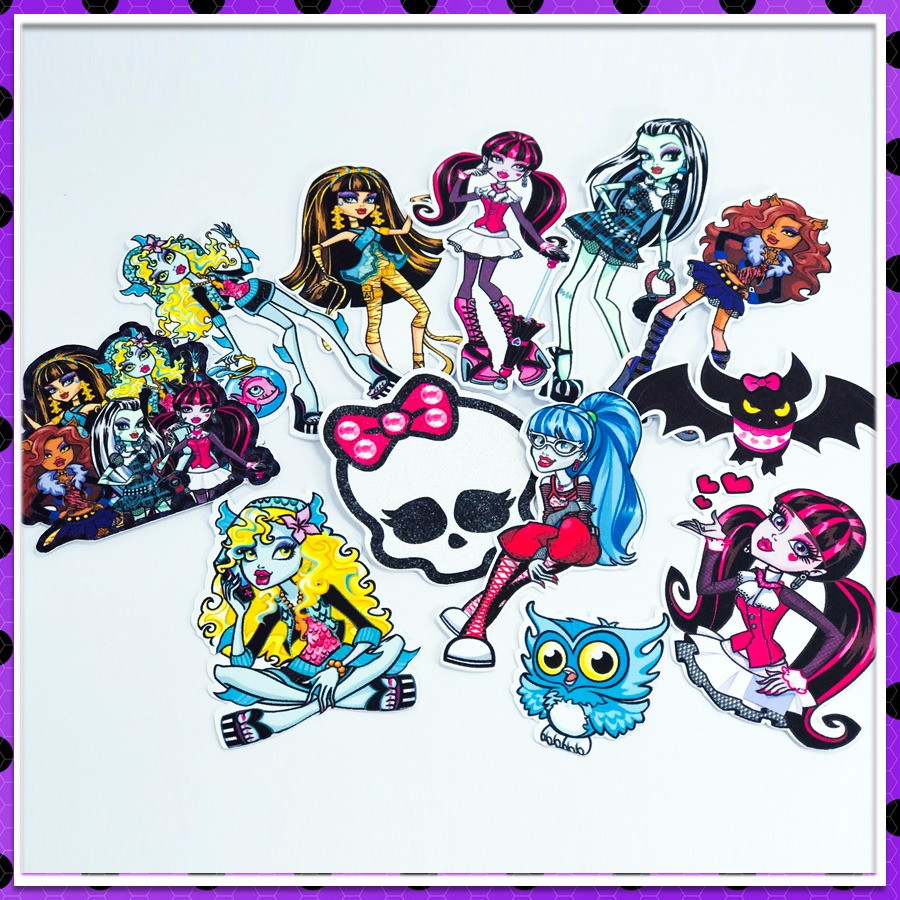 topo de bolo da monster high