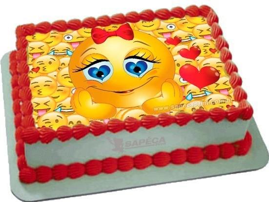 bolo emoji pasta americana