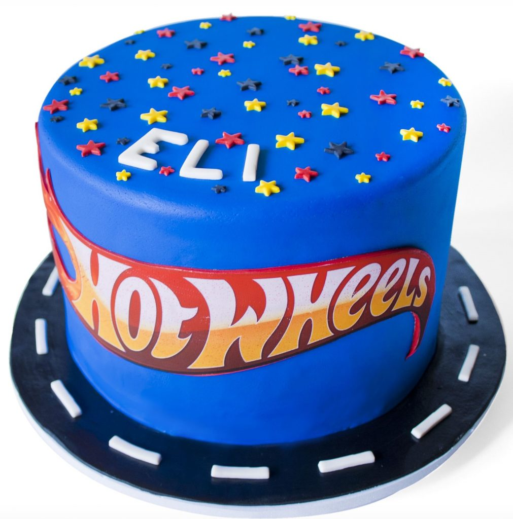 bolo hot wheels simples