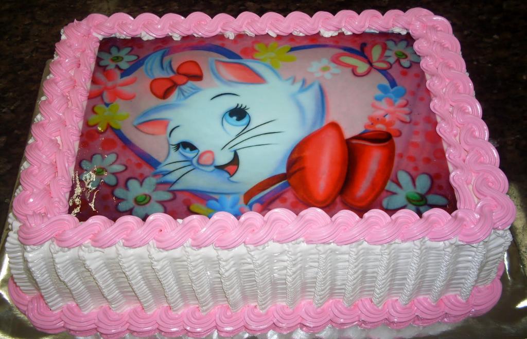 bolo infantil glace