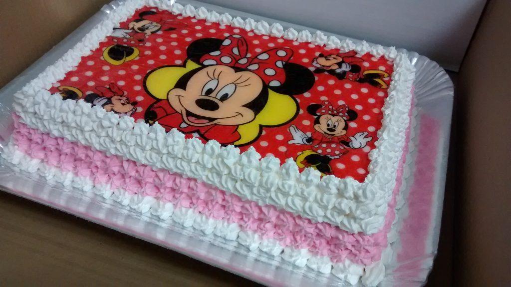 bolo infantil papel arroz