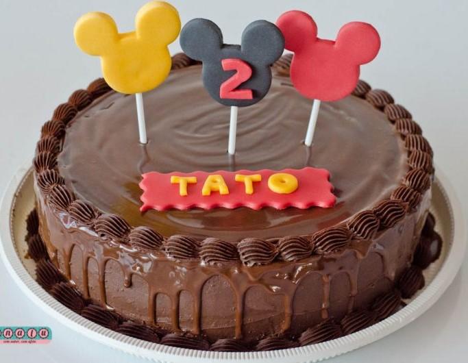 bolo infantil simples