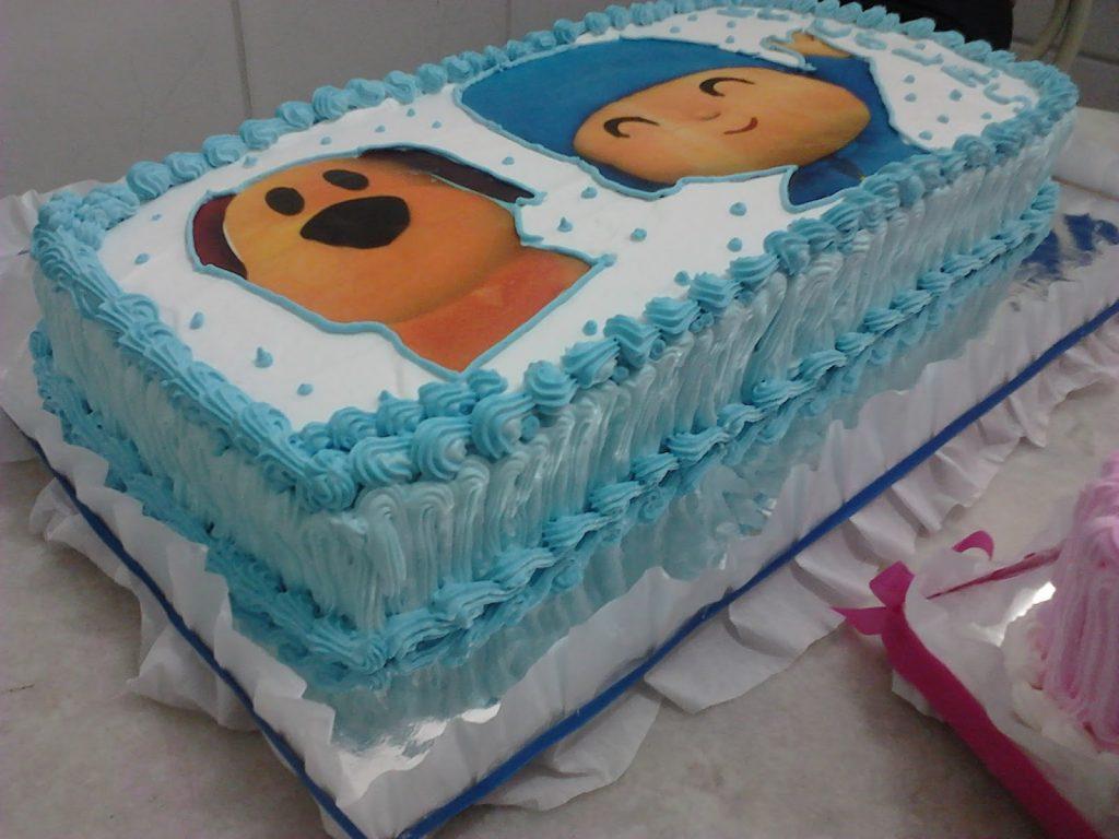 bolo pocoyo chantilly