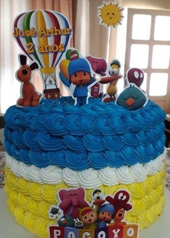 bolo pocoyo chantininho