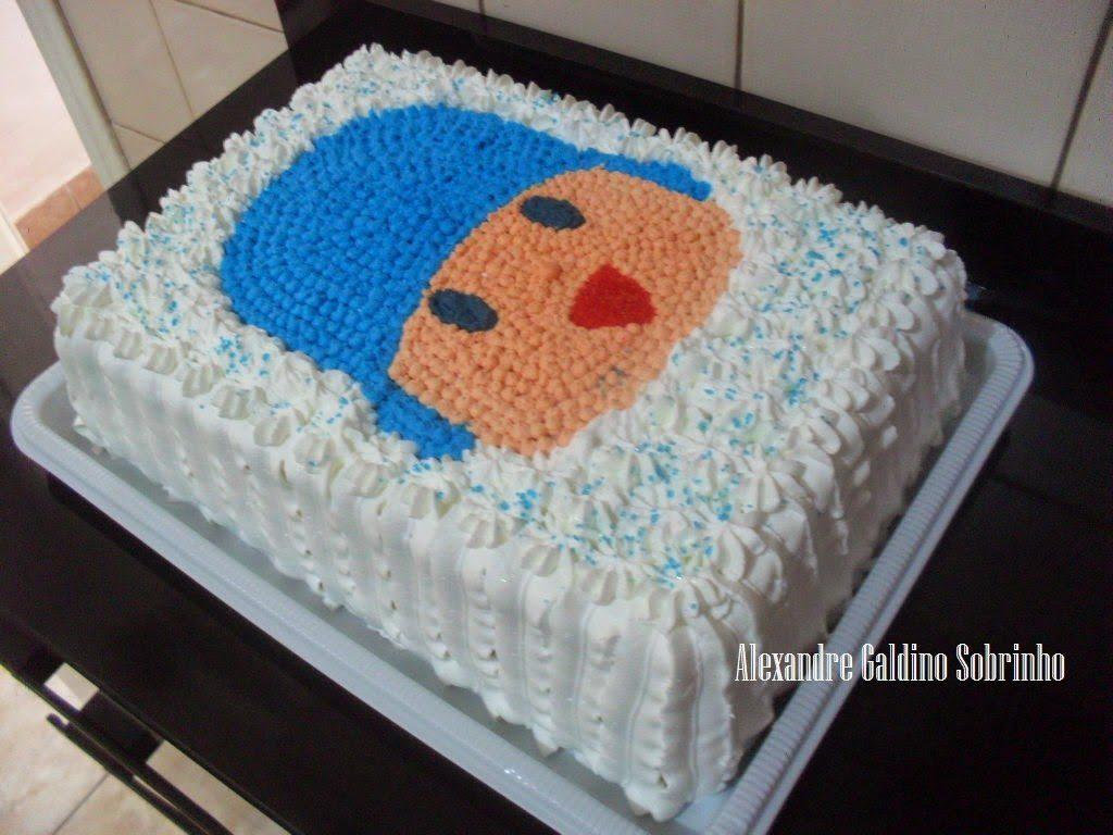 bolo pocoyo quadrado