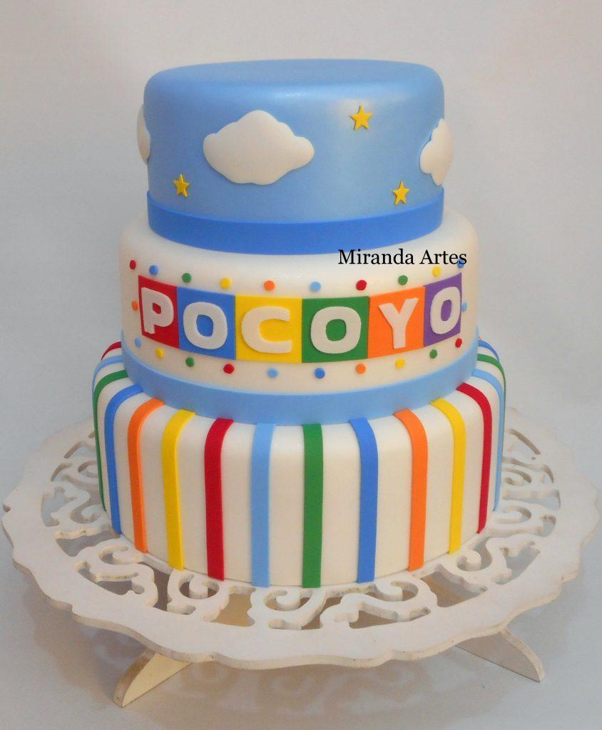 bolo pocoyo fake