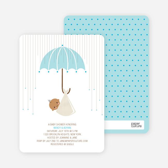 convite chuva de amor chá de bebê