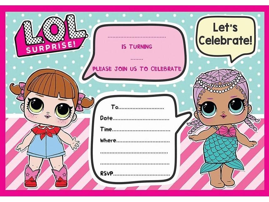 Convite da lol