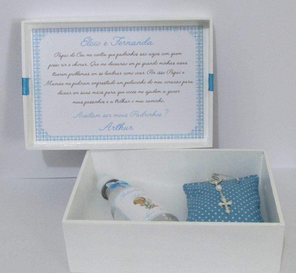 convite de batismo para padrinhos