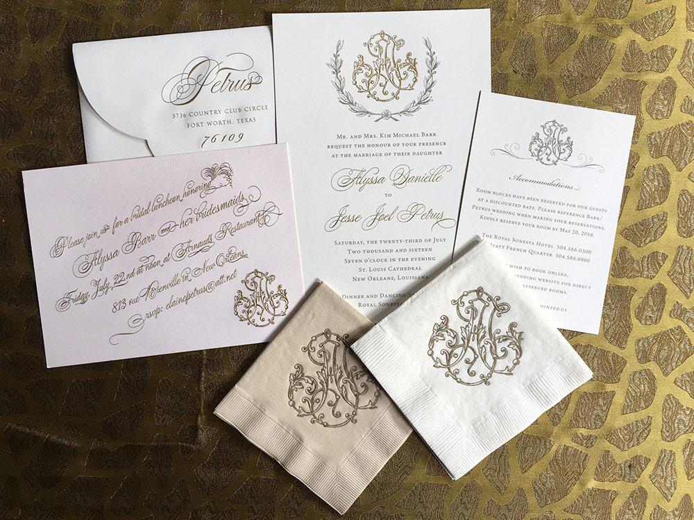 convite de casamento com cifra