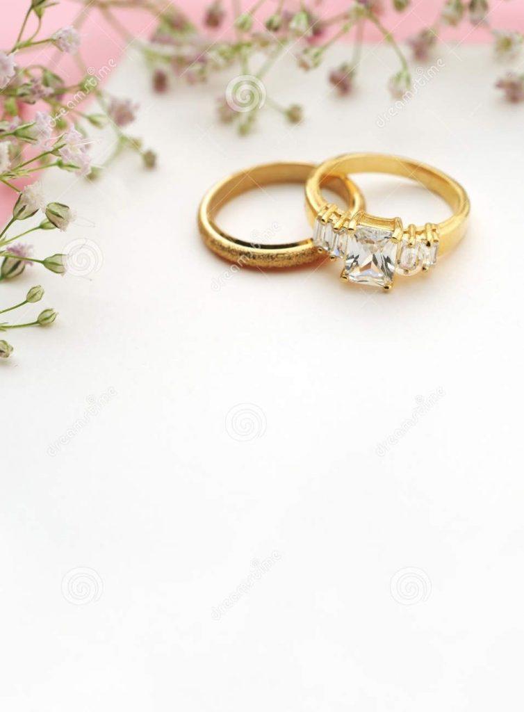 convite de casamento branco