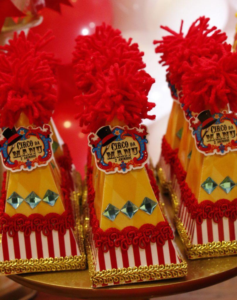 lembrancinha circo luxo
