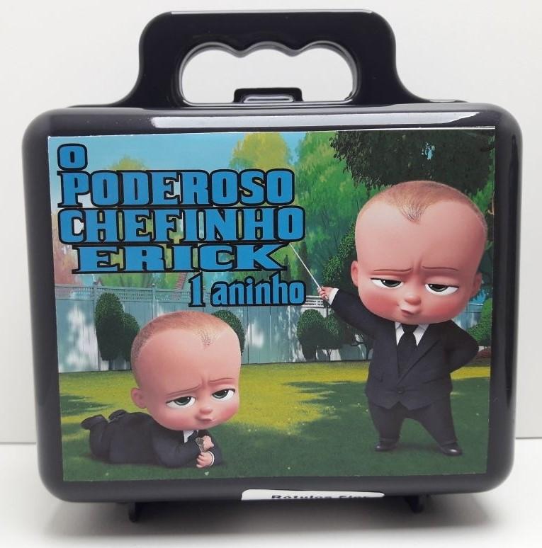 maleta lembrancinha poderoso chefinho