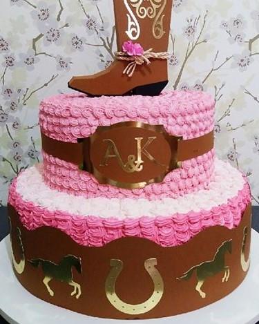 bolo country feminino