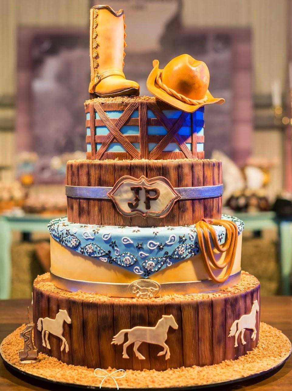 bolo country infantil