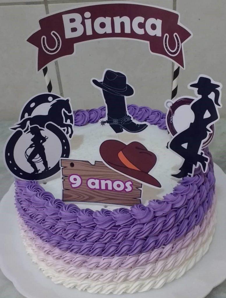 bolo country redondo