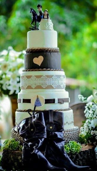 bolo country casamento