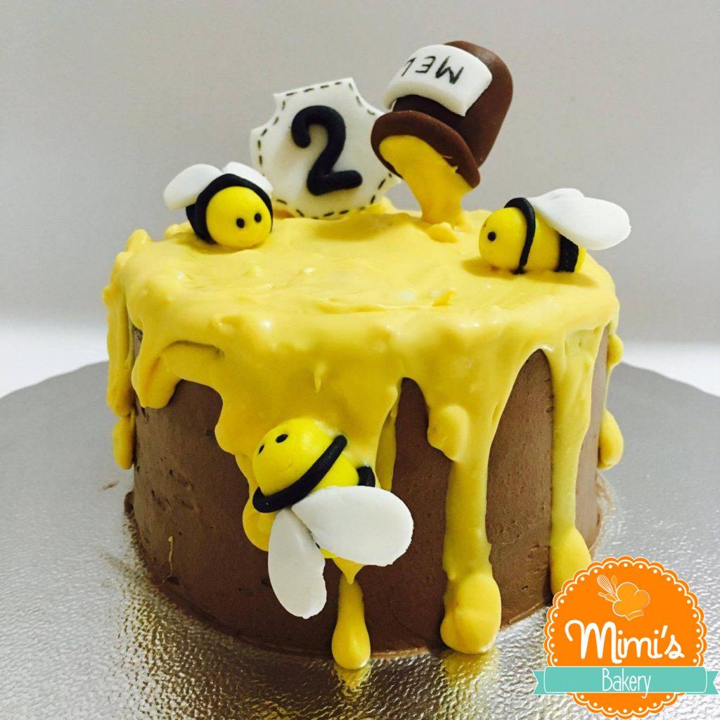 bolo da abelhinha simples