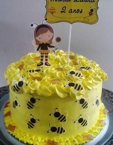 bolo da abelhinha chantilly
