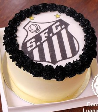 bolo do santos chantilly
