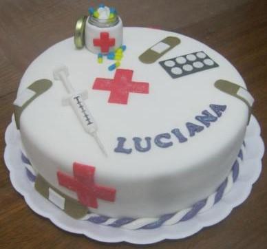 bolo enfermagem simples