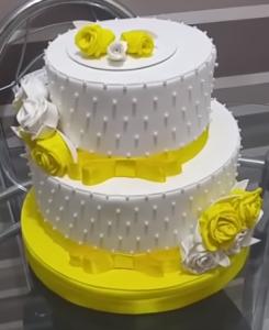 bolo fake como fazer passo a passo