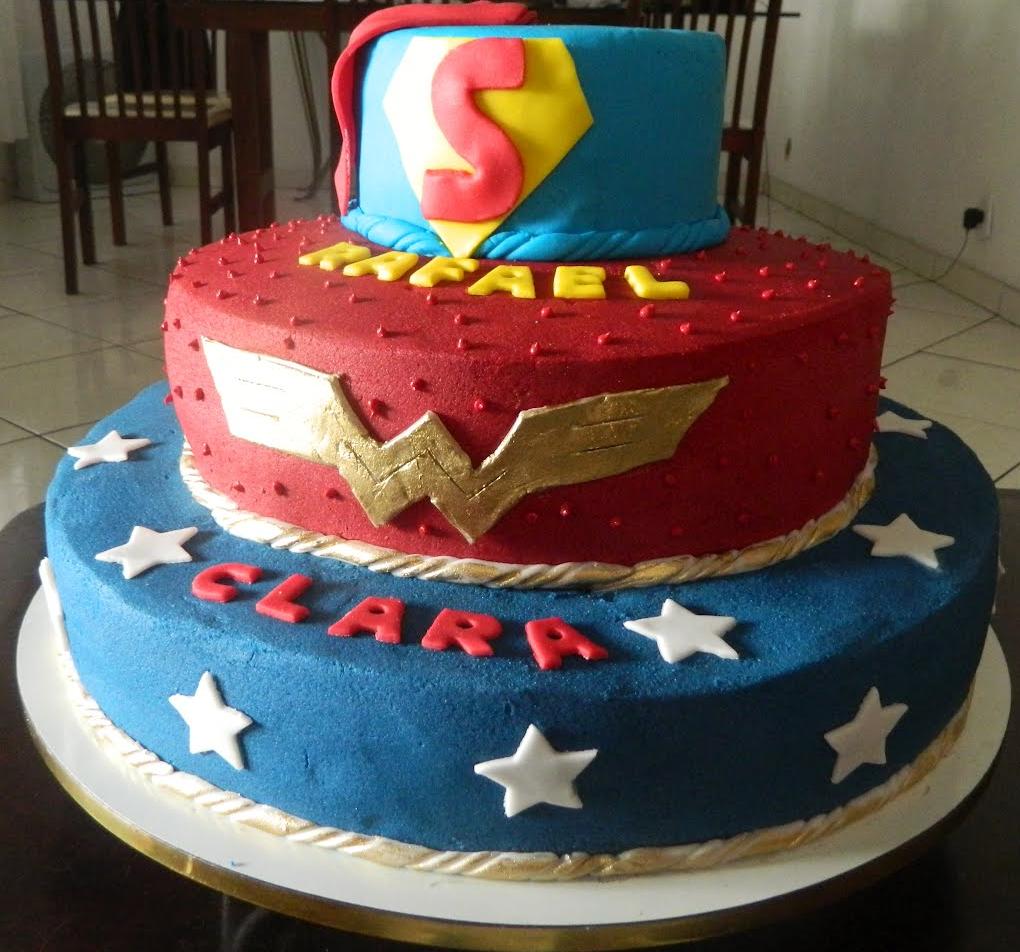 bolo liga da justiça pasta americana