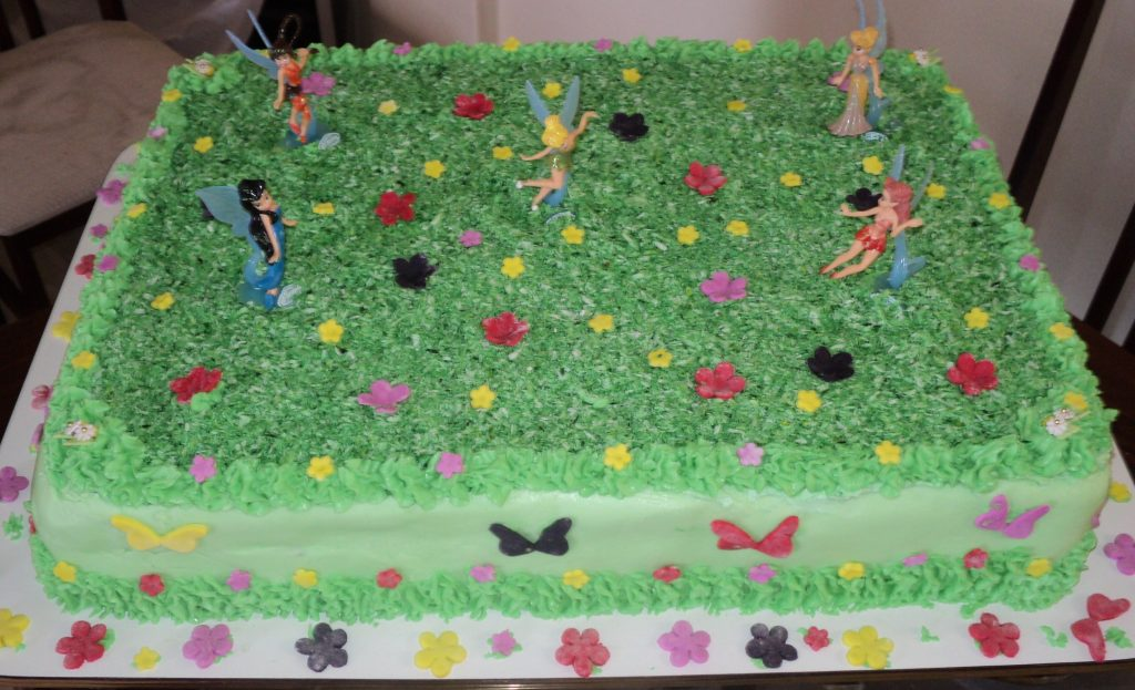 bolo tinker bell simples