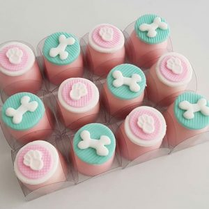 cupcake patrulha canina rosa
