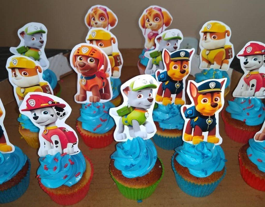 cupcake patrulha canina chantilly