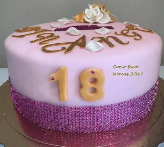 bolo 18 anos feminino
