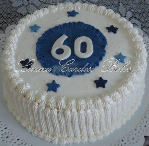 bolo 60 anos simples