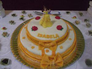 bolo a bela e a fera 2 andares