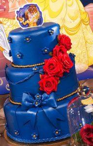 bolo a bela e a fera pasta americana