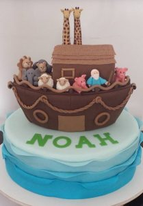 bolo arca de noé pasta americana