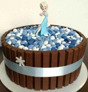 bolo da elsa simples
