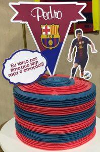 bolo do barcelona simples