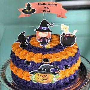 bolo halloween chantilly