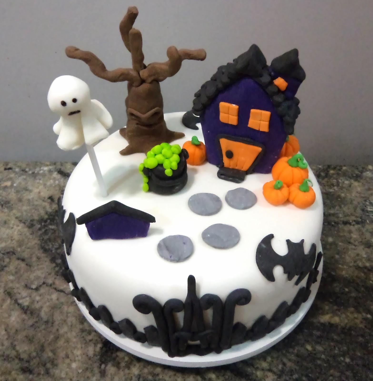 bolo halloween infantil
