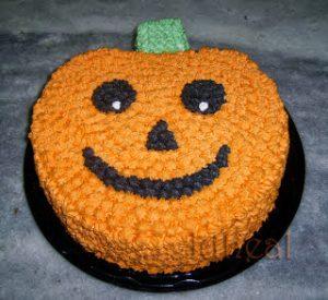 bolo halloween simples