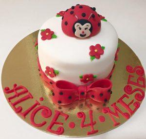 bolo joaninha mesversário