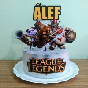 bolo league of legends simples