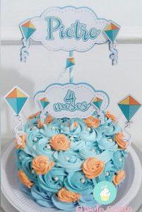 bolo mesversario feminino