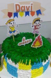 bolo mesversario festa junina