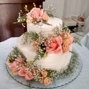 Bolo primavera casamento