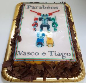 bolo transformers simples
