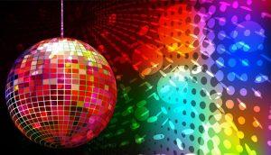 convite festa neon fundo