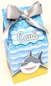 lembrancinha baby shark caixa de leite
