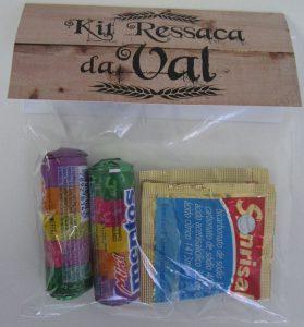 lembrancinha boteco kit ressaca